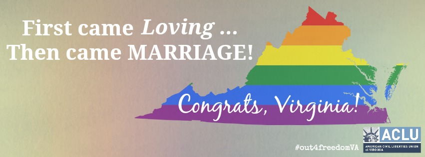 Marriage Equality in VA!